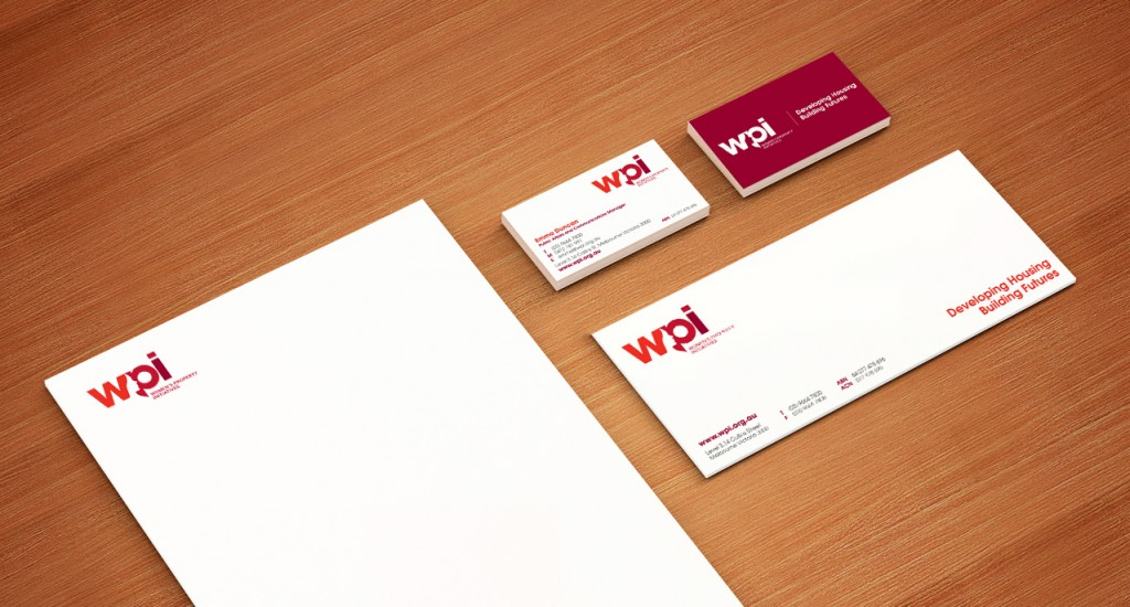 Women's Property Initiatives - Business Stationery