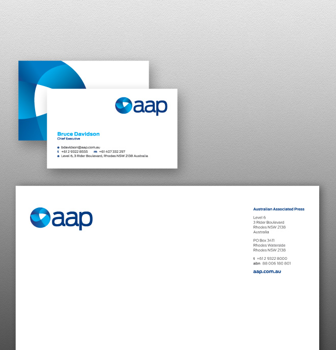 Charles Elena - Branding Agency for Australian Associated Press